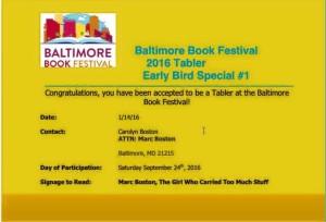 Bmore Festival of the Book