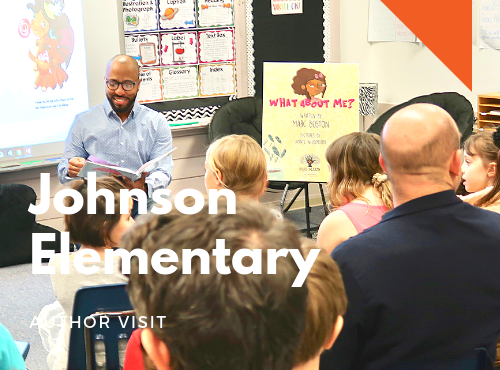 February 21st: Johnson Elementary, Charlottesville, Virginia