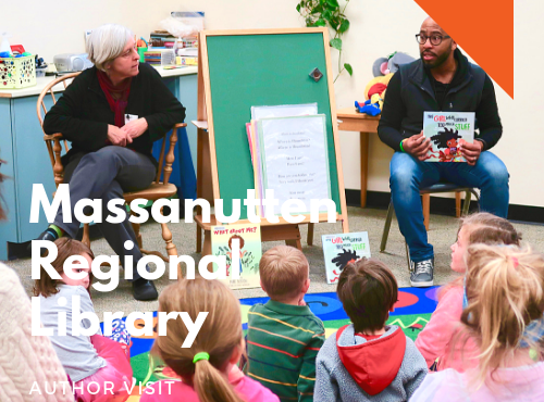March 21st: Massanutten Regional Library, Harrisonburg, Virginia