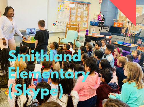 April 16th: Smithland Elementary, Harrisonburg, Virginia (Skype)