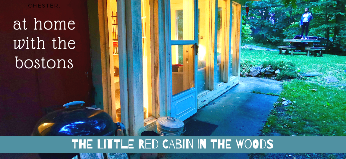 Marc Boston - the little red cabin in the woods